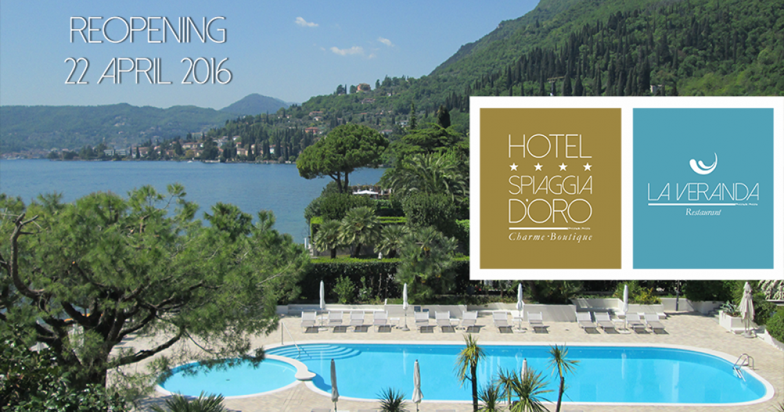 Reopening Hotel Spiaggia d'Oro - Charme&Boutique