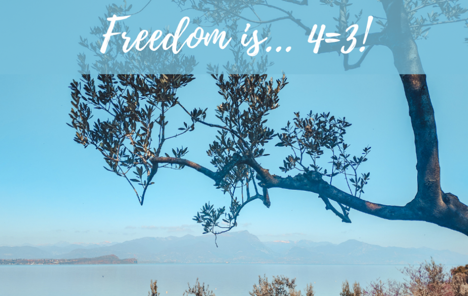 Freedom is... 4=3